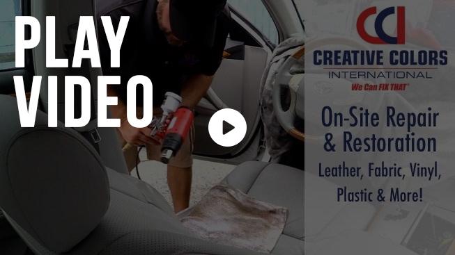 Leather Repair Vinyl Fabric Repair Restoration We Can